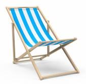 The beach chair — Stok fotoğraf