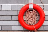 The lifebuoy. — Stock Photo