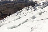 Glacier of Cotopaxi — Stock Photo