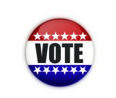 Vote badge — Stock Photo