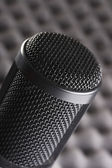 Condenser mic in a studio setting. — Stock Photo