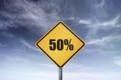 Conceptual road sign — Stock Photo