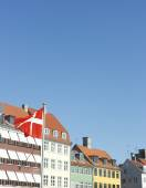 Nyhavn district of Copenhagen — Stock Photo