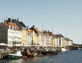 Nyhavn district of Copenhagen — Stock Photo