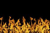 Fierce and beautiful flames — Stock Photo