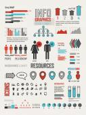 Infographics elements design — Stock Vector
