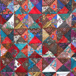 Patchwork quilt — Stock Photo #62027009
