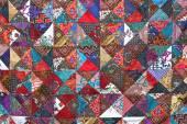 Patchwork quilt — Stock Photo