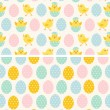 Seamless Easter Patterns — Stock Vector #59074387