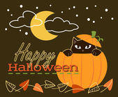 Happy halloween bild — Stockvektor
