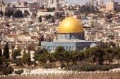 Jerusalem, Israel, El-Aqsa mosque on temple mountain — Foto Stock