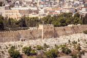 Jerusalem, Israel, Temple mountain without El-Aqsa mosque — Stock Photo