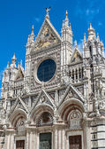 The Italian city of Siena is the eternal rival of Florence — Stock Photo