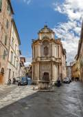 The Italian city of Siena is the eternal rival of Florence. — Stock Photo