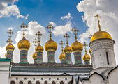 Russia, Moscow, Kremlin, Terem Churches or Upper Saviour's Cathedral. — Stok fotoğraf