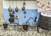 町オビドス - 野外博物館は、ポルトガルのお土産. — ストック写真