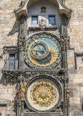 The main clock of Prague. — Stock Photo