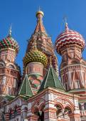Russia, Moscow, Red Square, The Cathedral of Vasily the Blessed — Stock Photo