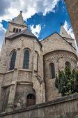 Czech Republic, Prague . Prague Castle , the Basilica of St. Geo — Stock Photo