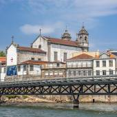 Portugal, Porto. Church of the Brotherhood of the Holy Souls and — Stock Photo