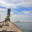 Thailand, Krabi province . The islands in the Andaman Sea . Boat — Stock Photo #66799265