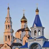 Pyatiprestolny Trinity Church in Iver convent in Rostov - on - D — Stock Photo