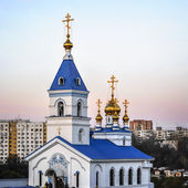 Rostov- on-Don. St. Iver convent. Church of the Iberian Icon of  — Stock Photo