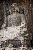 Luoyang . Buddha statue height of seventeen meters. — Stock Photo