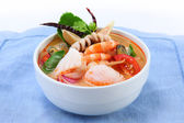 Tom Yum Soup, Thai Food — Stock Photo