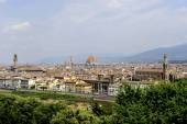 Medieval town of Florence with Duomo — Stock Photo
