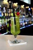 Kiwi cocktail — Stock Photo