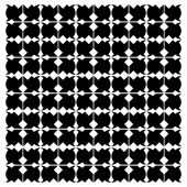 Vector geometric pattern background black and white — Vettoriale Stock