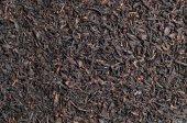 Fond de thé noir — Photo