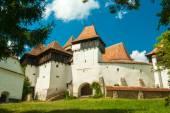 Viscri fortified church, Transylvania, Romania — Stock Photo
