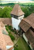Viscri fortified church, Transylvania, Romania — Stock Photo