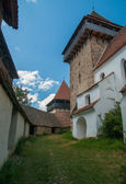 Viscri fortifié église, transylvanie, roumanie — Photo