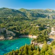 Paleokastritsa bay, Corfu Island, Greece — Stock Photo #61497845