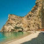 Paradise Beach near Liapades, Western of Corfu Island, Greece — Stock Photo #61642951