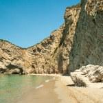 Paradise Beach near Liapades, Western of Corfu Island, Greece — Stock Photo #61642953