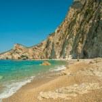Paradise Beach near Liapades, Western of Corfu Island, Greece — Stock Photo #61642961