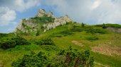 Alpine landscape in Ciucas mountains, Romania — Stock Photo