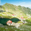 Glacial Balea Lake on Transfagarasan. Carpathians Mountains — Stock Photo #62532489