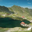 Glacial Balea Lake on Transfagarasan. Carpathians Mountains — Stock Photo #62532481
