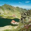 Glacial Balea Lake on Transfagarasan. Carpathians Mountains — Stock Photo #62532499