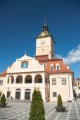 Council House and the Council Square, Brasov, Romania — Stock Photo