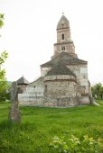 Densus - Ancient stone church in Transylvania, Romania. — Стоковое фото