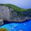 Navagio Beach - Shipwreck Beach, Zakynthos Island, Greece — Stock Photo #66151775