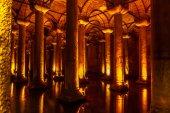 Basilica cistern, Turkey. Istanbul.  — Стоковое фото