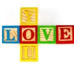 Love you — Stock Photo #61127005