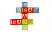 Learn, Lead and Earn — Stock Photo